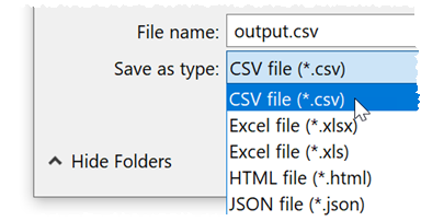 convert fixed width to CSV